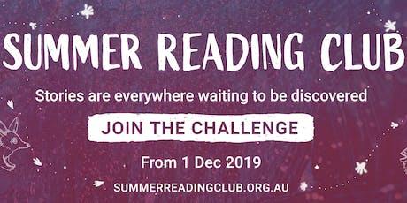 Summer Reading Club tickets