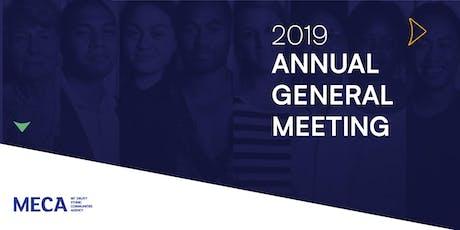 MECA AGM 2019 tickets