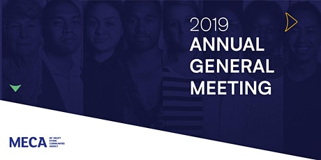 MECA AGM 2019 tickets