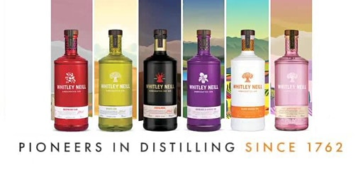 Gin Masterclass with Whitley Neill