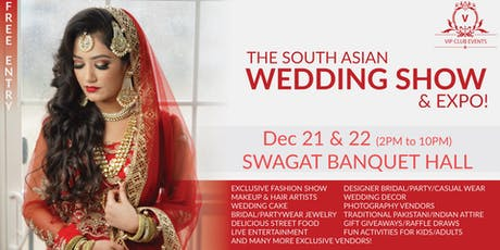 The South Asian Wedding Show 2019 tickets