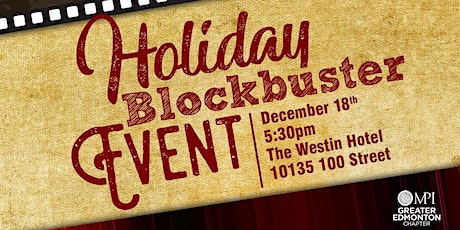 Holiday Blockbuster Event tickets