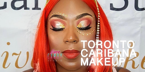 Glitteration Makeup for Toronto Caribana 2020