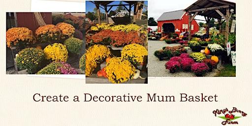 Create a Decorative Mum Basket