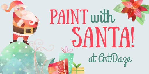 Paint with Santa Claus at ArtDaze!