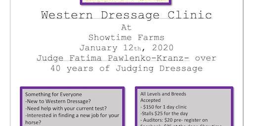 Western Dressage Clinic- Fatima Kranz