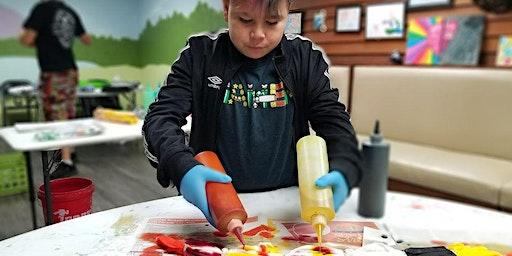 Tie-Dye Art Therapy