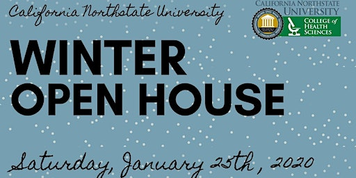CNU College of Health Sciences Winter Open House