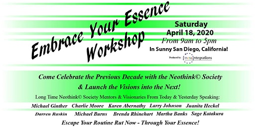 The 2020 Embrace Your Essence Workshop