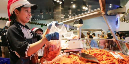 36-HOUR SEAFOOD MARATHON  -  SYDNEY FISH MARKETS