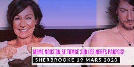 Sherbrooke 19 mars 2020 LE COUPLE Josée Boudreault billets