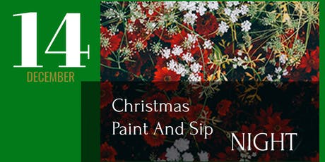 Christmas Inspired Paint And Sip Night tickets