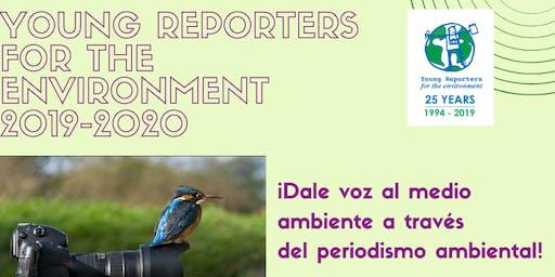 Programa educativo ´´ Young Reporters for the Environment´  en Mayagüez