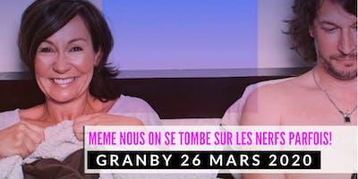 Granby 26 mars 2020 LE COUPLE Josée Boudreault