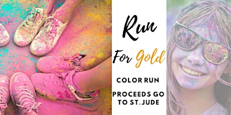 Run for Gold Color Run tickets
