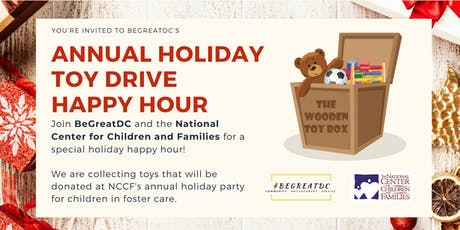 BeGreatDC's 2nd Annual Holiday Happy Hour Toy Drive tickets