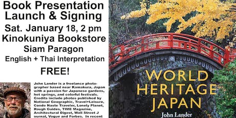 Book Launch, Author Event & Signing: World Heritage Japan tickets
