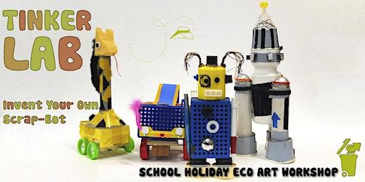 Tinker Lab - Invent Your Own Scrap-Bot : Children's Eco-Art Workshop