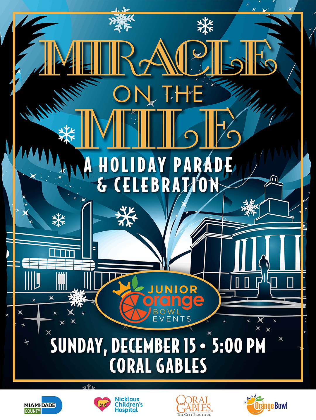 Holiday on the Mile: Pre-Parade VIP Party with Grandstand seating