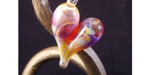 2-Hour Valentine's Heart Pendant Making Class - MA (2020-02-15 starts at 6:30 PM)