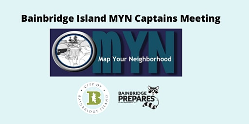 Map Your Neighborhood Captain's Meeting