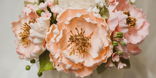Sugar Flower Class: Open Sugar Peony at Fran's Cake and Candy Supplies