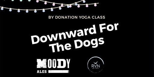 Downward for the Dogs Charity Yoga Class for Dog Rescues