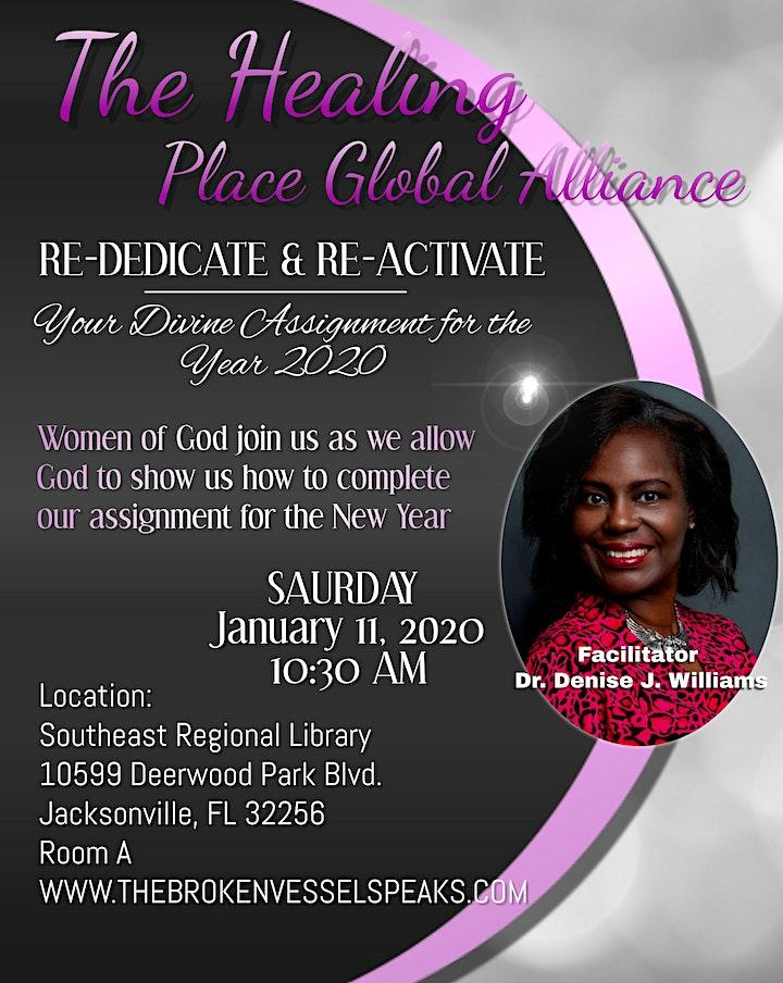 The Healing Place Global Alliance January 2020 Fel image