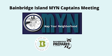 Map Your Neighborhood Captain's Meeting tickets