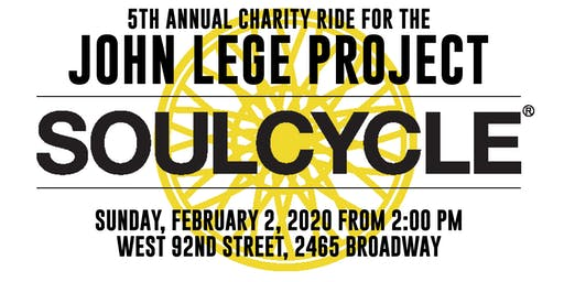 5th Annual SoulCycle Ride for The John Lege Project