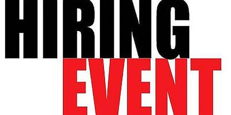 Free Hiring Event tickets