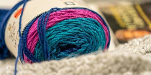 Crochet Keyhole Scarf w/ Debi