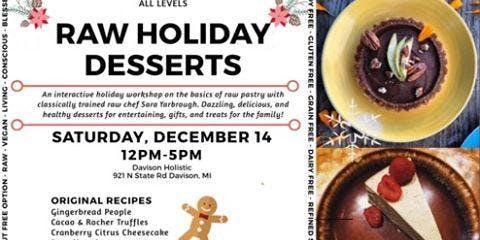 Holiday Raw Desserts