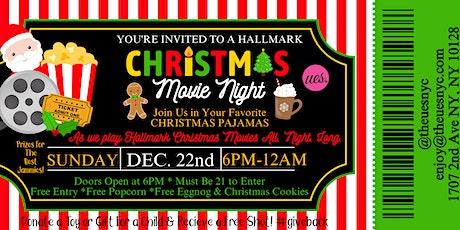 HALLMARK CHRISTMAS MOVIE PAJAMA PARTY AT UES.! tickets
