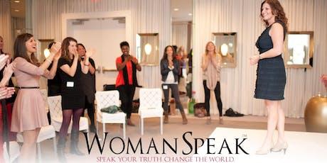 Public Speaking For Women ( Get Clear, Speak Up, Impact Change ) tickets