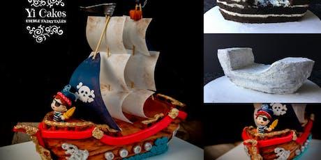 3D Pirate Ship Cake Class tickets