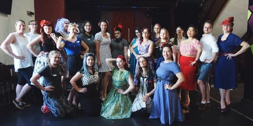 Glamour Girl Burlesque School 2020 Launch Event!
