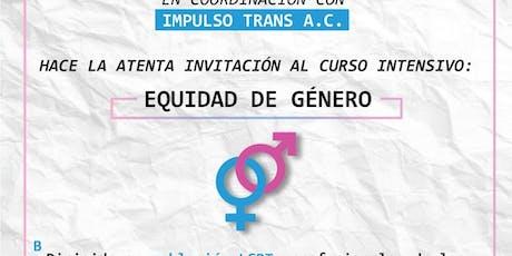 EQUIDAD DE GENERO boletos