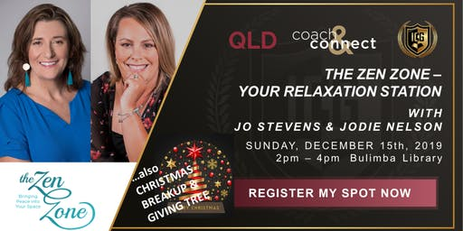 ICG Coach & Connect Qld - Sunday, December 15th, 2019 - The Zen Zone