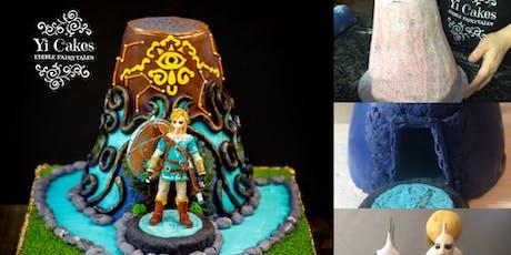 3D Zelda Theme inspired Cake tickets