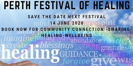 Perth Festival of Healing 14 June 2020 tickets