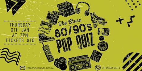 80/90's Quiz tickets