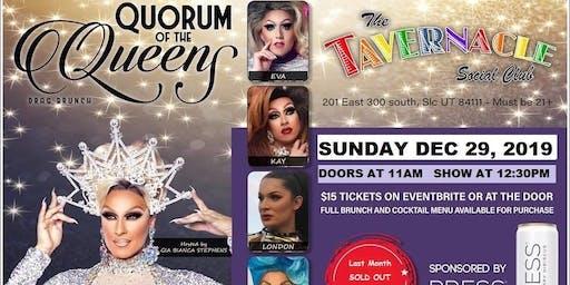Quorum of the Queens Drag Brunch - Dec. 29, 2019