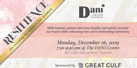 Resilience: An evening by Women for Women tickets