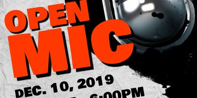 Open Mic @ Rutgers Newark Hosted by Jersey City Slam