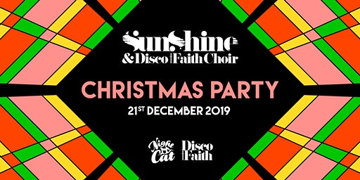 Sunshine & Disco Faith Choir Christmas Party