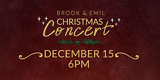 Christmas Concert Charity Event in Morgan Hill-Help the Homeless