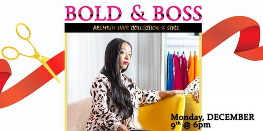 Bold & Boss Ribbon Cutting Ceremony & Holiday Party