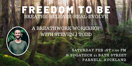 Freedom To Be. Breathwork Workshop tickets