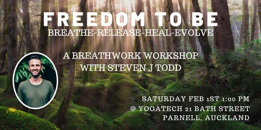 Freedom To Be. Breathwork Workshop